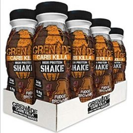 Grenade Carb Killa Protein Shake Fudge Brownie