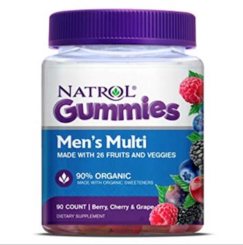 Natrol Mens Multi Gummies